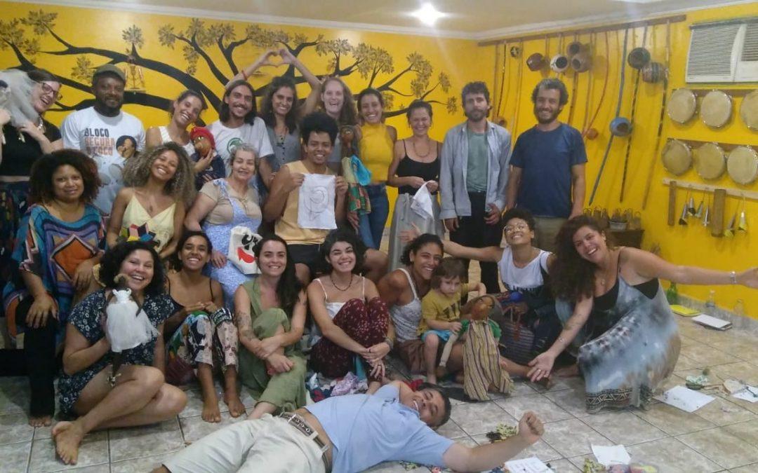 Aconteceu o III encontro do curso de formação em Brasília