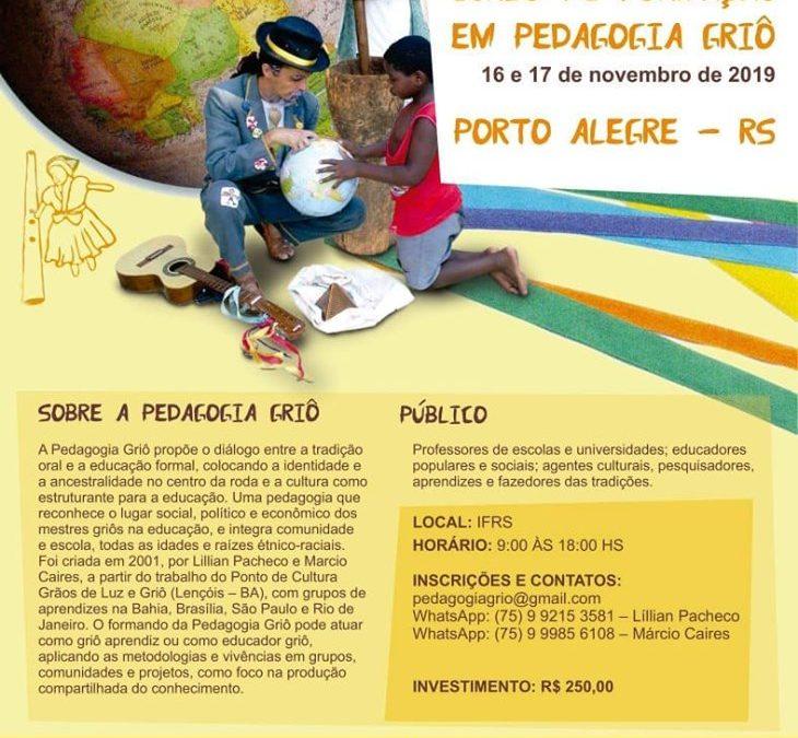 Novo grupo de Porto Alegre começa em novembro!! Ainda temos vagas!!